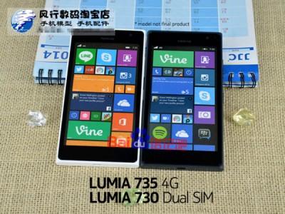 Ini Dia Penampakan Lumia 730 dan Lumia735